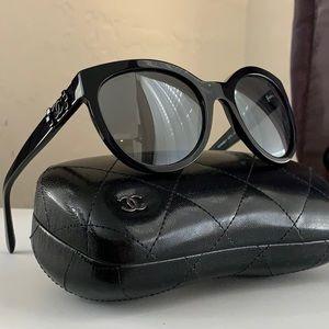 Authentic Chanel boy brick Sunglasses